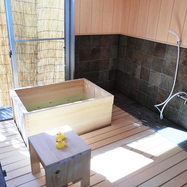 大垣市 桧風呂のあるケアホーム